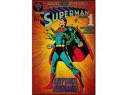 Roommate RMK1633SLG Superman Kryptonite Comic Cover Giant Wall Decal 9SIV06W69W1403