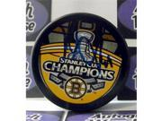 Autograph Warehouse 224058 Dennis Seidenberg Autographed Hockey Puck - Boston Bruins 2011 Stanley Cup Champions 9SIV06W6A72146