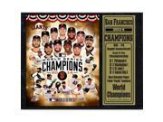 Encore Select 520-37 2014 World Series Champion San Francisco Giants 12 x 15 Plaque 9SIV06W69Z5137