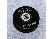 AJ SportsWorld QUIJ11205A Jonathan Quick Los Angeles Kings Autographed Hockey Puck With 1St Game Note 9SIV06W6A60860