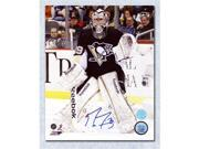 Marc-Andre Fleury Pittsburgh Penguins Autographed Hockey Goalie 8x10 Photo 9SIV06W69Y1371