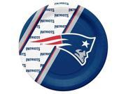 New England Patriots Disposable Paper Plates 9SIV06W69Z4273