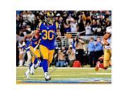 Real Deal Memorabilia TGurley11x14-1 Todd Gurley Signed - Autographed St. Louis Rams - Los Angeles Rams 11 x 14 in. Photo - 2015 Rookie of The Year 9SIV06W6A03241