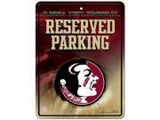 Florida State Seminoles Metal Parking Sign 9SIV06W6B06780