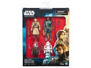 Hasbro HSBC1231 3.75 in. Star Wars Rogue 1 Action Figure Pack - Set of 6 9SIV06W6AS8280