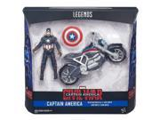 Hasbro HSBB6354 3.75 in. Captain America Civil War Figure & Vehicle, Pack of 4 9SIV06W6B70710