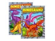 Bulk Buys Coloring & Activity Book- Dinosaurs - Case of 48 9SIV06W6AX8075