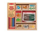 Melissa And Doug 9363 Wooden Stamp Set - Pets 9SIV06W6AY1135