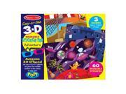 Melissa And Doug 9375 Easy-to-See 3-D Reusable Sticker - Adventure 9SIV06W6AY1445