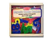 Melissa & Doug 449 Magnetic Wooden Numbers 9SIV06W6B70977