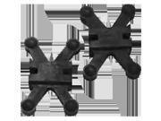 Bow Jax 6153 Bowjax Revelation Split Limb Dampener - Black 9SIV06W6AW6277