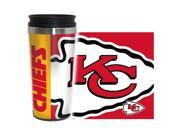 Kansas City Chiefs Travel Mug - 14 oz Full Wrap - Hype Style 9SIV06W6CC5386