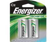 Energizer EVENH35BP2CT Rechargeable C Batteries - Pack of 2, Multi Color