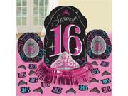 Amscan 281466 Sweet Sixteen Party Table Centrepiece Decorating Kit - Pack of 6 9SIV06W6DG4981