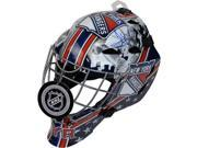 Steiner Sports LUNDHES000007 Henrik Lundqvist Signed New York Rangers Full Size Replica Shield Logo Goalie Mask 9SIV06W6F78671
