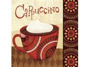 Cup of Joe II by Veronique Charron  Gallery Wrap Canvas Art printed on heavy museum grade canvas. 9SIV06W6GE6848