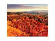Bryce Sunrise by Gary Crandall  Gallery Wrap Canvas Art printed on heavy museum grade canvas. 9SIV06W6GH5927