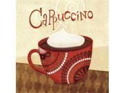 Cup of Joe II by Veronique Charron  Gallery Wrap Canvas Art printed on heavy museum grade canvas. 9SIV06W6GJ7673