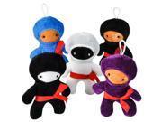 DDI 1935062 6 in. Ninja Plush Toy Assortment 9SIV06W6NG7109
