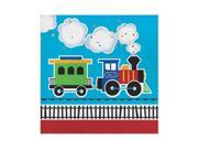Hoffmaster Group 322214 2 Ply All Aboard Luncheon Napkin, Pack of 12 - 16 Per Pack 9SIV06W77Y8641
