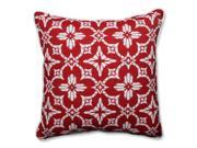 Pillow Perfect 591575 Indoor-Outdoor Aspidoras Apple Red Floor Pillow - 25 in. 9SIV06W7HV7534