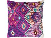 Surya SLD001-1818D 18 x 18 x 4 in. Splendid Global Square Pillow Kit, Multi Color 9SIV06W7HW0933