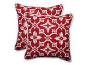 Pillow Perfect 586205 Indoor-Outdoor Aspidoras Apple Red Throw Pillow, 18.5 in. - Set of 2 9SIV06W7HV7733