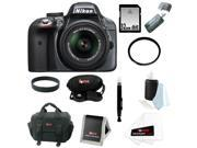 Nikon D3300 DSLR Camera with 18-55mm Lens (Grey) with 32GB Accessory Kit