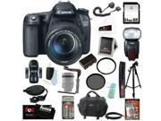 Canon 70d: Canon Eos 70d 20.2mp Digital Camera Efs 18-135mm Lens   Canon Speedlite 600ex-rt Shoe Mount Flash  64gb Memory Card   Tiffen 67mm Uv Protector & Circ