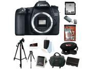 CANON 70D: Canon EOS 70D 20.2 MP Digital SLR Camera w/ Dual Pixel CMOS AF (Body Only) + 32GB Memory Card + Replacement Battery + Card Reader + Camera Case + Spi