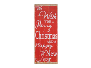 Holiday Wishes Wooden Sign 9SIV07Y7EZ9998
