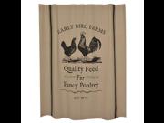 Fancy Poultry Shower Curtain 9SIV07Y7F01113
