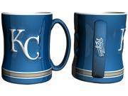 Kansas City Royals Coffee Mug - 14oz Sculpted Relief 9SIV07Y7KD1552