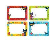 (6 Pk) Pete The Cat Name Tags Labels 9SIV07Y7M10286