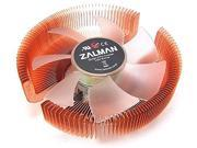 ZALMAN Computer Noise Prevention System with Silent Blue LED Fan and Copper Heatsink CPU Cooler CNPS7700-CU LED