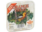 11OZ ORANGE TREAT SUET CS1250561