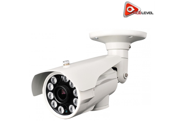 Acelevel 2.4MP HD TVI Bullet Camera with 2.8mm Vari Focal Lens and 10 Super IR LEDs White Color