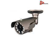 Acelevel 2.4MP HD TVI Bullet Camera with 2.8mm Vari Focal Lens and 10 Super IR LEDs Gray Color