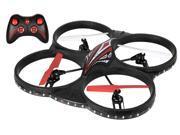 Tech Toyz Aerodrone 4-Channel 2.4 Ghz Wireless Indoor/Outdoor Quadcopter, Red