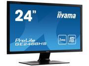 "iiyama GE2488HS-B1 Black 24"" 1ms HDMI Widescreen LED Backlight LCD Monitor"