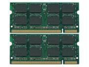 2GB KIT (2 x 1GB) DDR2-533MHz PC2-4200 200-Pin SODIMM Unbuffered NON-ECC  1.8v  DDR2 SODIMM MEMORY for LAPTOP Computers Memory Dell Inspiron B120