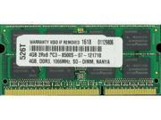 4GB PC3-8500 1066MHz MEMORY FOR DELL VOSTRO 3400