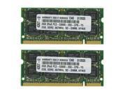 4GB KIT (2X2GB) PC2-5300 667MHz MEMORY FOR COMPAQ 6720T