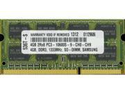 New 4GB PC3-10600 1333MHz MEMORY FOR DELL INSPIRON N3010
