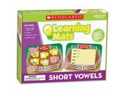 Teaching Aid,Learning Mat, Short Vowels,GR K-2,20/Pcs