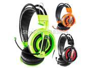 Top Quality Stereo E-3Lue Ehh007 Limited Edition Gaming Headset Headphone With Microphone With Microphone Razer Gamer Msn Skype