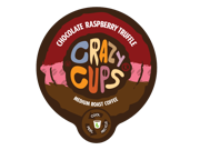 "Crazy Cups """"Chocolate Raspberry Truffle"""" (22) Count Flavored Single Serve Coffee K Cups."" 9SIV16A6719484"