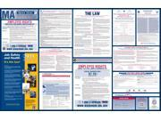Massachusetts Labor Law Poster 2015 (Laminated) /All-On-One State & Federal Labor Law Poster 9SIV0D532R5405