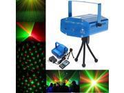 Mini R G Auto Voice Xmas DJ Disco Party Club Pub LED Laser Stage Light Projector Remote