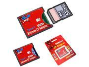 Extreme WIFI SD SDHC SDXC To CF Type I Compact Flash Memory Card Adapter Reader